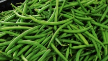 The Market Review - Green Beans & Italian Eggplant